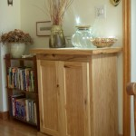 A new free-standing cupboard