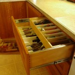 Double layer drawer, the top layer slides backward