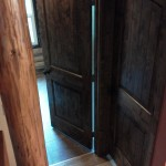 Rustic Alder with Black Walnut Stain Doors