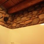 Stone shower surround