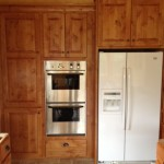 Oven and Refrigerator
